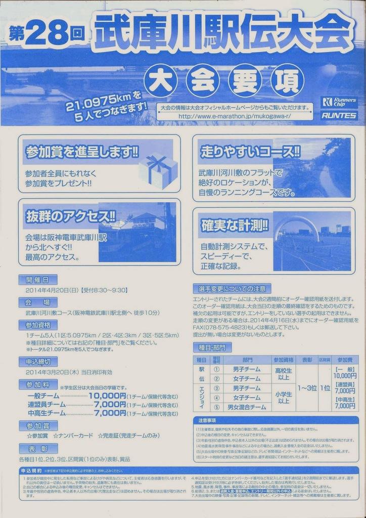2014/4/20武庫川駅伝大会要項