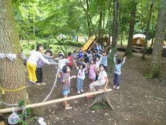 夏休み子どもキャンプに参加