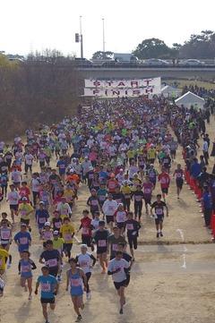 2016年1月10日第42回武庫川新春ロードレース大会