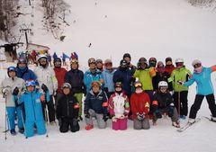 兵庫県スキー協フェスティバル2018年1月20から21日 氷ノ山国際スキー場 参加者25名