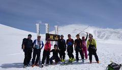 月山スキー